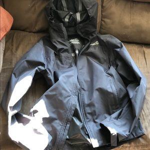 Avalanche zip up rain jacket / windbreaker